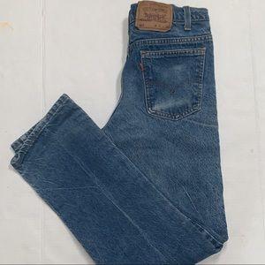 Vintage high-waisted Orange Tab Levi's 517 Jeans
